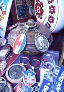 YU-Nostalgia: relics and souvenirs at Kalemegdan, Belgrade. By Josefina Bajer.